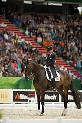 Steffen Peters and Legolas 92 WEG 2014 Normandy