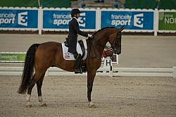 Laura Graves and Verdades WEG 2014 Normandy