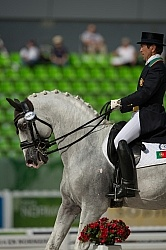 Carlos Pinto POR and Soberano III LUS WEG 2014 Normandy