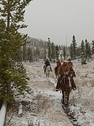 The Snowy Trail Ride