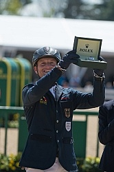Michael Jung winner of Rolex 2015 Michael Jung Wins Rolex 2015