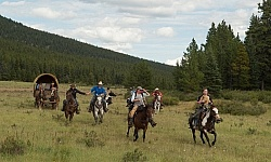 The Meadow Gallop On the Trail at Wild Deuce Women's Retreat