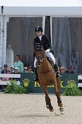 Sinead Halpin and Manoir de Carneville Rolex 2011 Arena Footing
