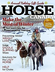 Horse Canada Nov  Dec 2017 Cover