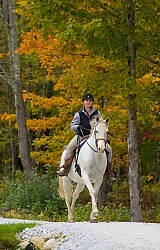 Mountain Top Resort, Vermont Cantering at Mountain Top Inn Vermont