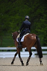 Jessica Hampf and High Society III Rolex 2011