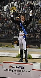 Alltech WEG Dressage Freestyle Edward Gal & Moorlands Totilas