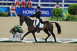 Andrew Nicholson and Lord Killinghurst Hong Kong Olympics 2008