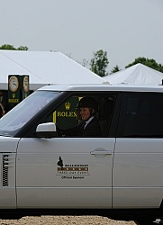 Allison Springer wins 18 month lease on Range Rover Rolex 2012