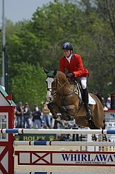 Boyd Martin and Otis Barbotiere Rolex 2012