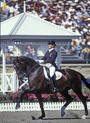 Christine Traurig and Etienne Sydney Olympics