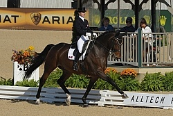 Belinda Trussell and Anton WEG 2010