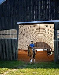 Oldenburg Leaving the Indoor Arena