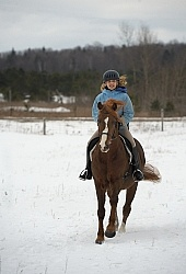 Winter Riding Kids