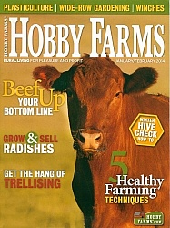 Hobby Farms Jan Feb 2014 Cover