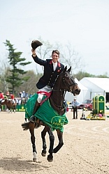 William Fox-Pitt and Bay My Hero Rolex 2014