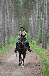 Trail Riding Spring Summer