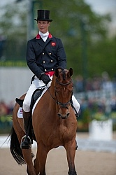 William Fox-Pitt and Neuf De Couers Selle Francais Rolex 2011