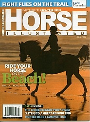 Horse Illustrated July 2014 Cover