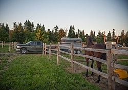Arriving at Horse Campgrounds