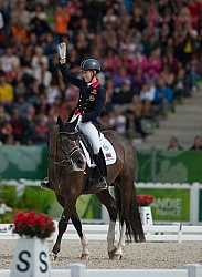 Charlotte Dujardin and Valegro Grand Prix Freestyle WEG 2014 Nor