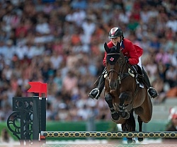 Jessica Phoenix and Pavarotti WEG 2014 Normandy, France