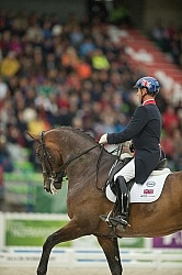 Carl Hester and Nip Tuck Grand Prix WEG 2014 Normandy, France