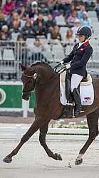 Sophie Wells and Valerius WEG 2014 Normandy, France