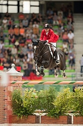 Eric lamaze and Zigali P S WEG 2014 Normandy,France