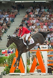 Eric Lamaze and Zigali P S WEG 2014 Normandy