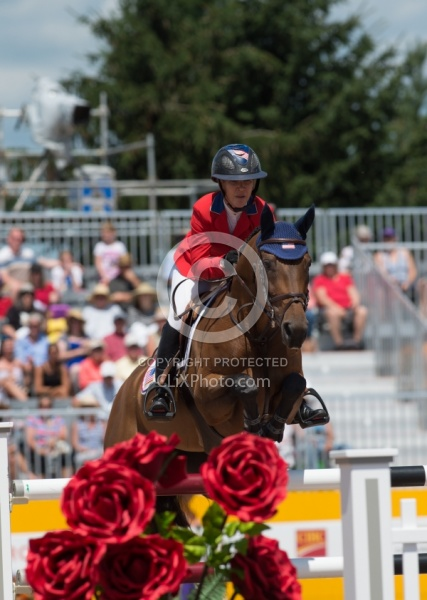 Lauren Hough and Ohlala Pan Ams Toronto 2015