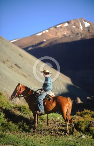 Crossing The Andes Gauchos