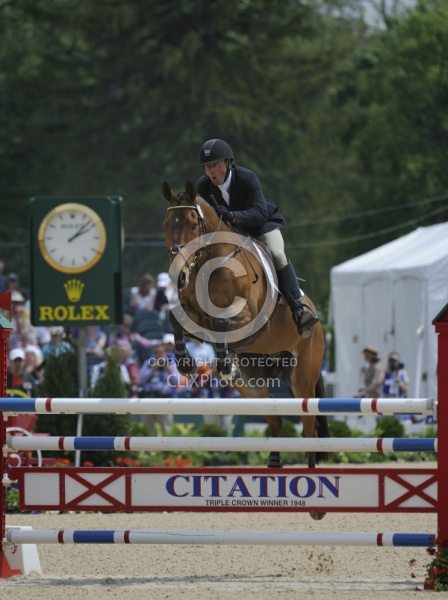 Peter Barry and Kilrodan Abbott Rolex 2012