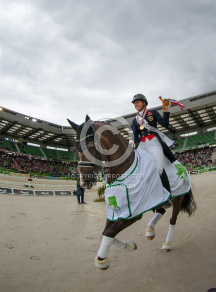 Grand Prix Special Awards WEG 2014 Dressage